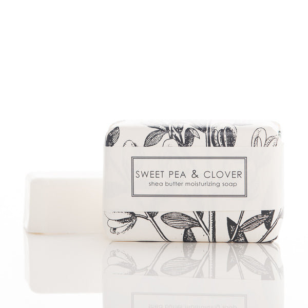Shea Butter Soap - Sweet Pea & Clover Bath Bar