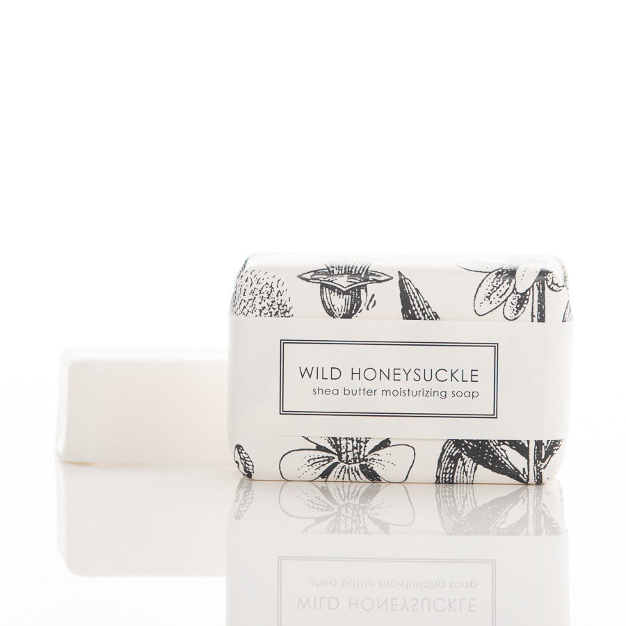 Shea Butter Soap - Wild Honeysuckle Bath Bar