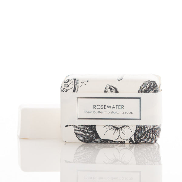 Shea Butter Soap - Rosewater Bath Bar