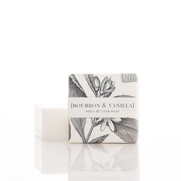 Shea Butter Soap - Bourbon & Vanilla Guest Bar