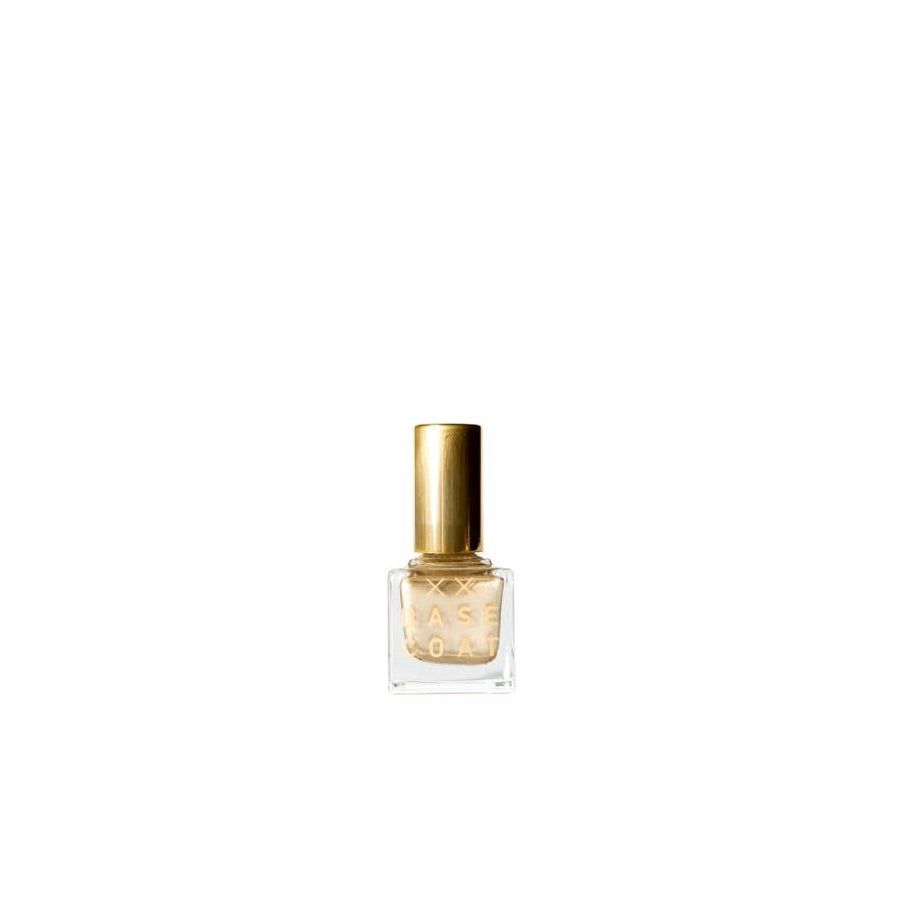 Natural Nail Polish by Base Coat - Gold / The Simon Collective