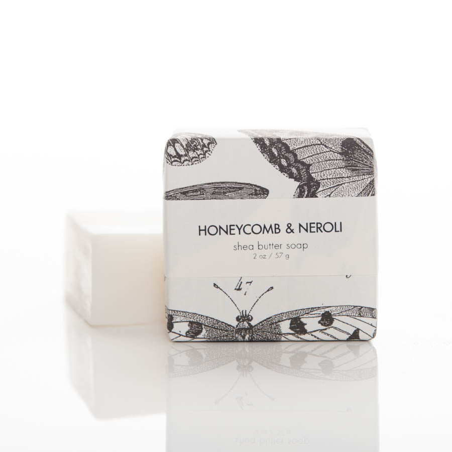 Shea Butter Soap - Honeycomb & Neroli Guest Bar
