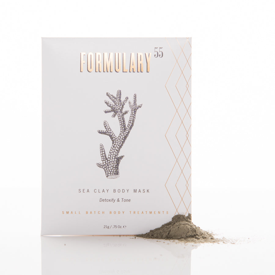 Body Mask Botanical Treatment - SEA CLAY