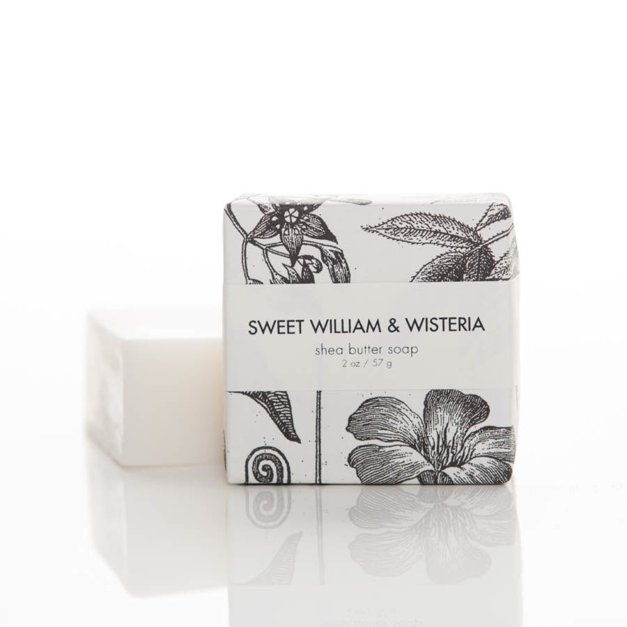 Shea Butter Soap - Sweet William & Wisteria Guest Bar