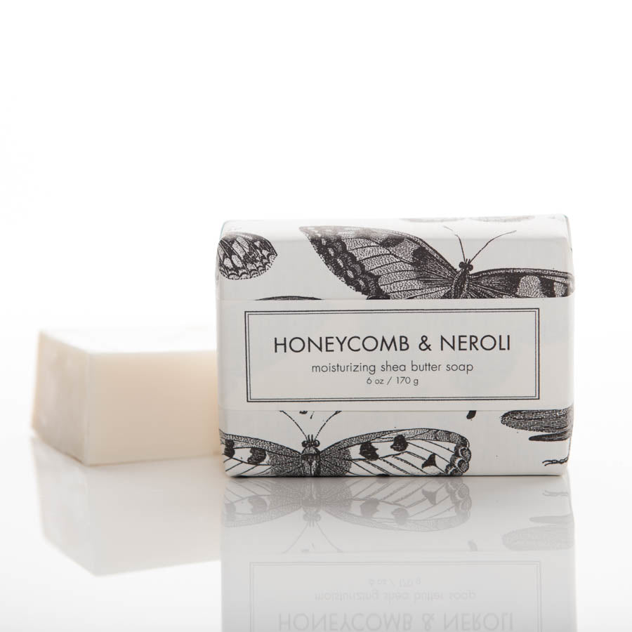 Shea Butter Soap - Honeycomb & Neroli Bath Bar
