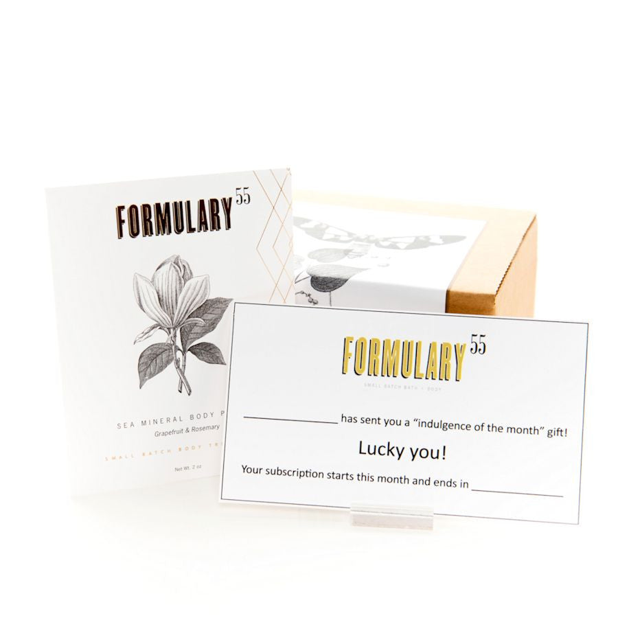 FORMULARY 55 SPA GIFT SUBSCRIPTION