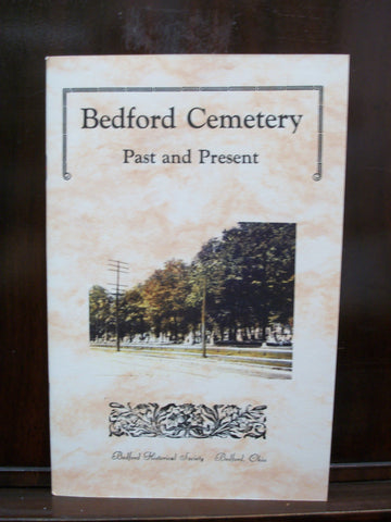 Book - Bedford Cemetery: Past and Present