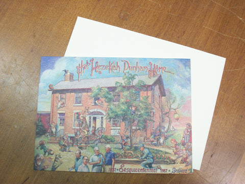 Card - Hezikiah Dunham House Blank Notecards