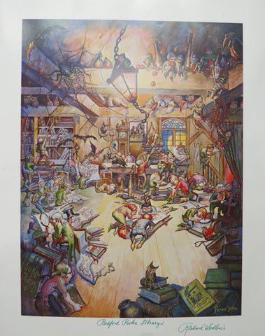 Richard Sedlon - Pooka Library Print - Signed