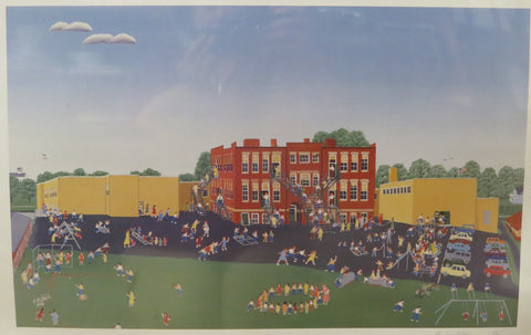 Central School Print by Paul Patton