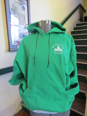 Clothing - Green Hooded Sweatshirt