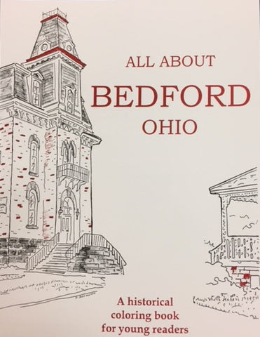Book - All About Bedford Childrens Coloring Book