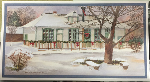 Card - Train Depot Christmas Cards