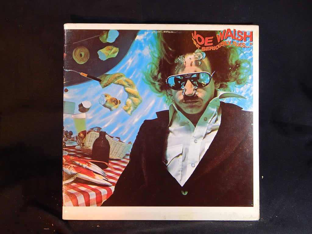 Joe Walsh- - But Seriously Folk's (LP)