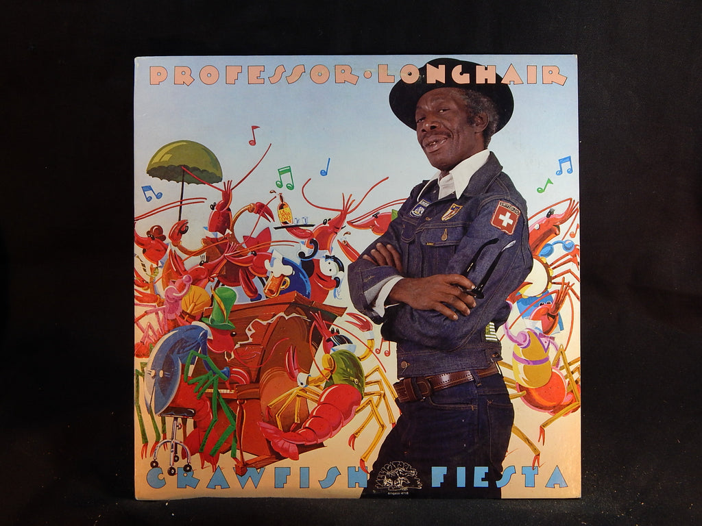 PROFESSOR LONGHAIR - Crawfish Fiesta (LP)