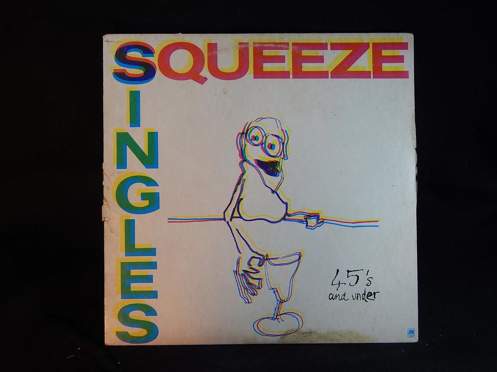 SINGLES 45's AND UNDER -  SQUEEZE  (LP)