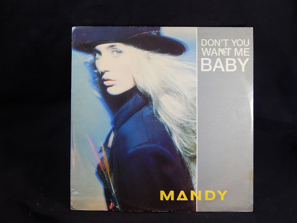 MANDY - Don't You Want Me Baby (LP)