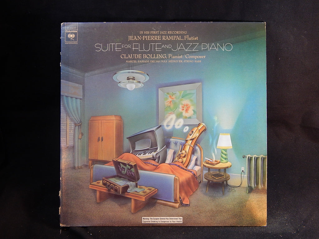 Jean-Pierre Rampal - Suite for Flute & Jazz Piano (LP)