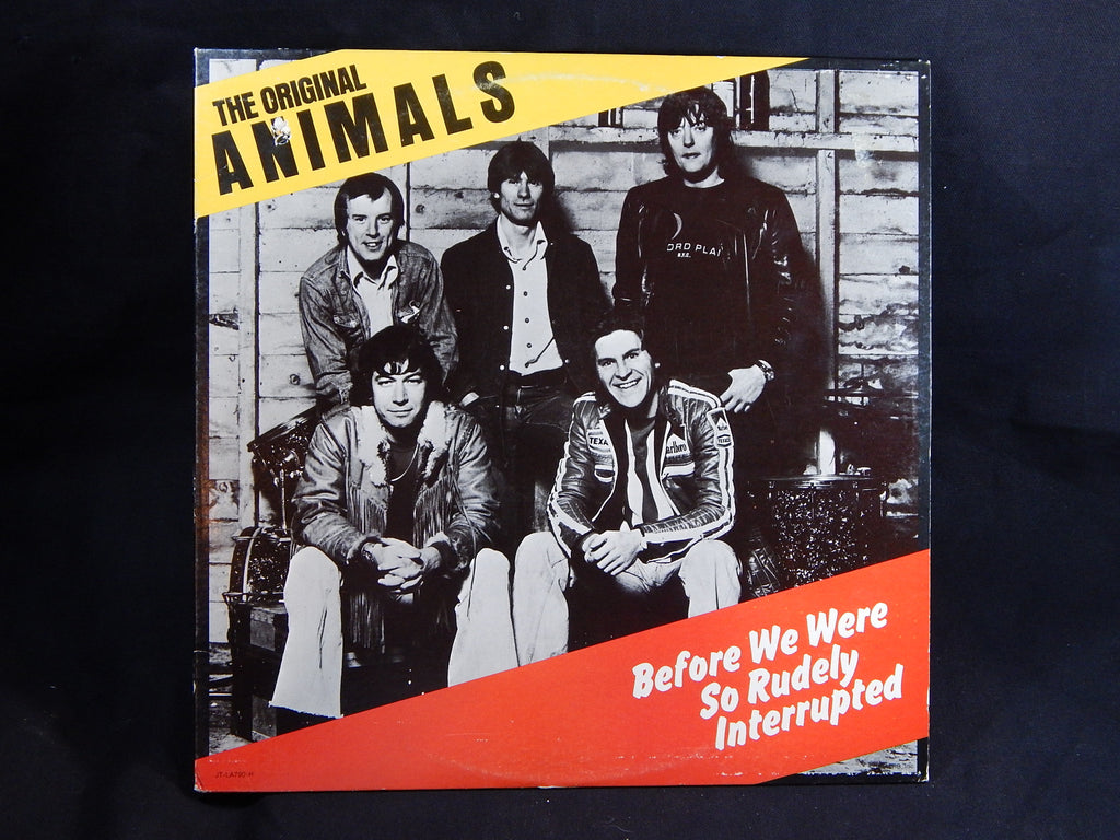 THE ORIGINAL ANIMALS - Before We Were So Rudely Interrupted (LP)