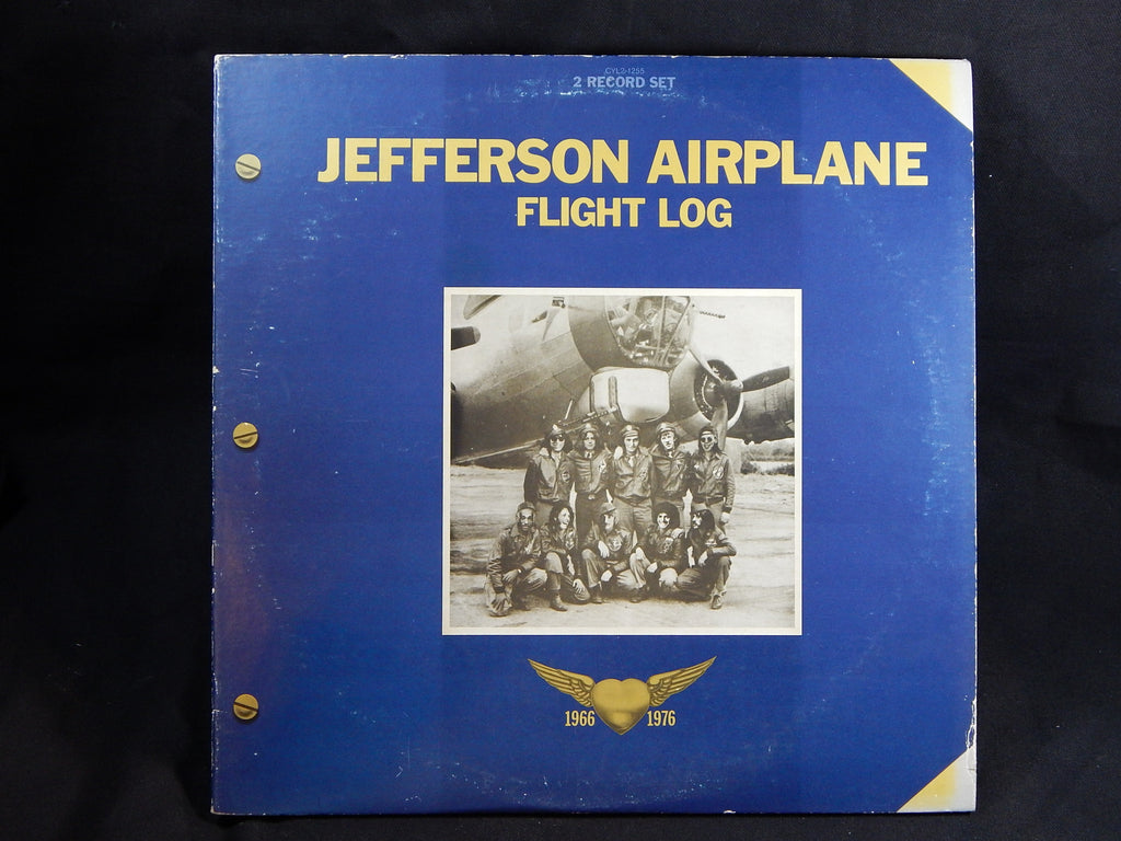 JEFFERSON AIRPLANE - FLIGHT LOG (LP) 2 Record set