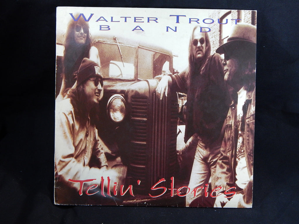 WALTER TROUT BAND - Tellin' Stories (LP)
