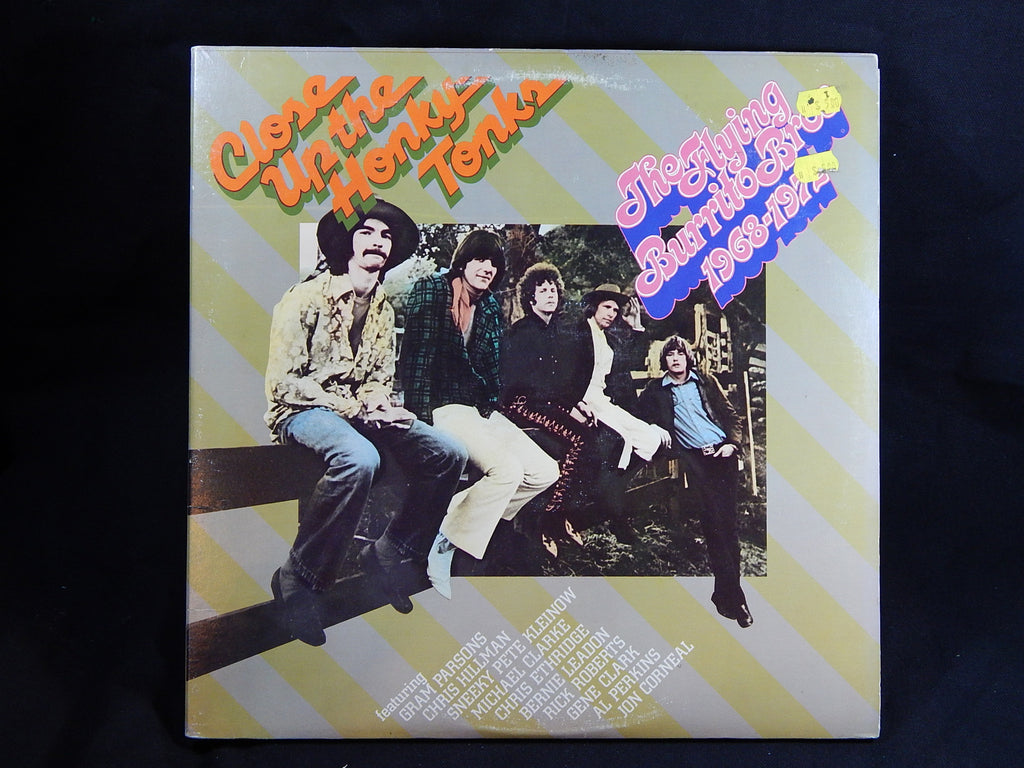 THE FLYING BURRITO BROTHERS - Close Up The Honky Tonks (LP) Double Album Set