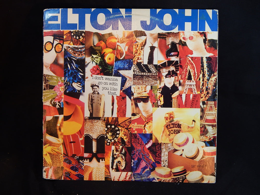 ELTON JOHN - I Don't Wanna Go On With You Like That (LP)