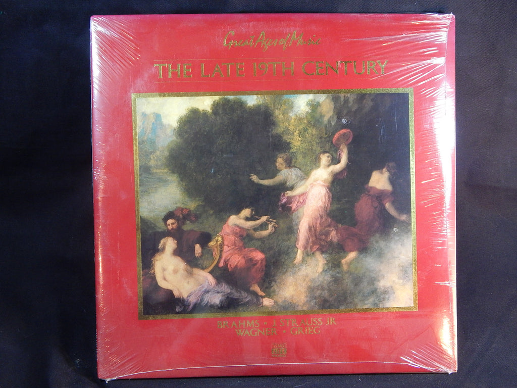 BRAHMS, J. STRAUSS JR., WAGNER & GRIEG - The Late 19th Century (LP) - NEW-UNOPENED