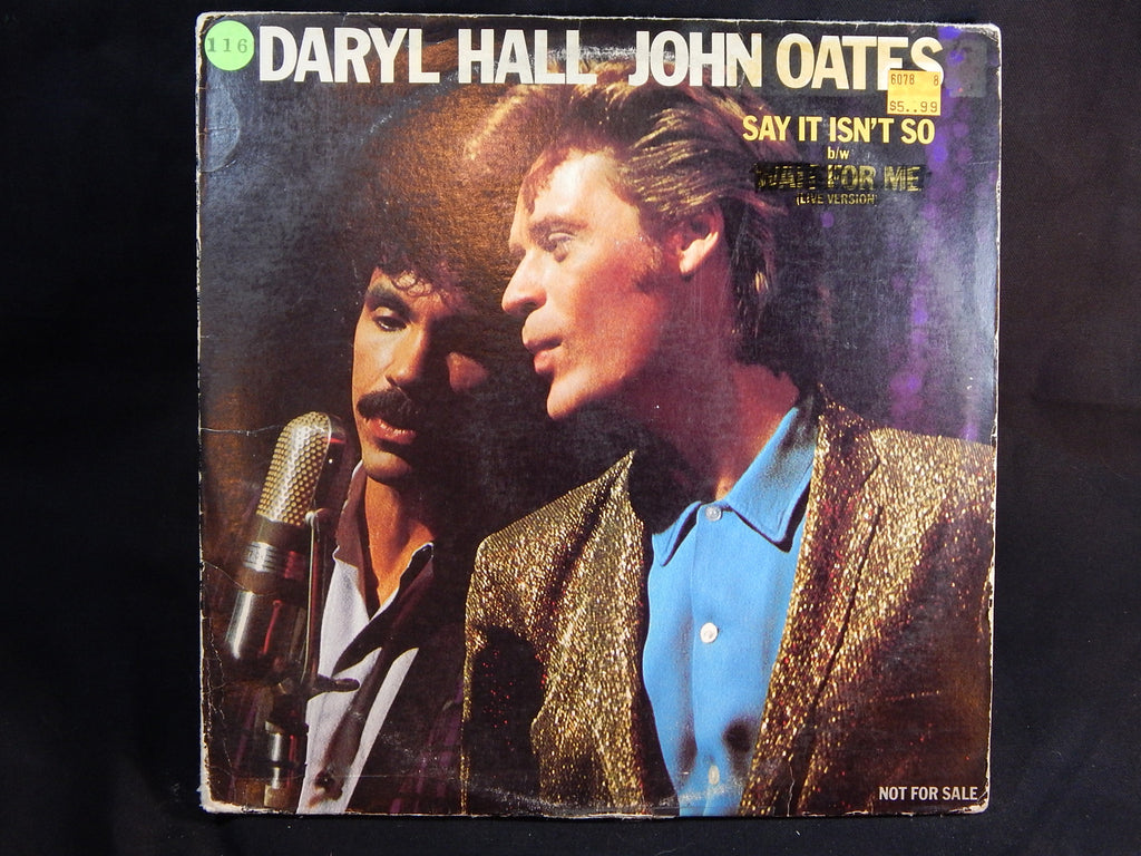 "DARYL HALL JOHN OATES - Say It Isn't So (12"" Single) Special Edition"