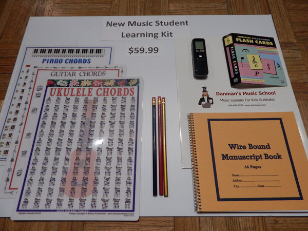 New Music Student Learning Kit