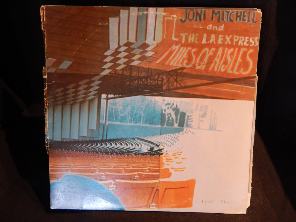 Joni Mitchell and The LA Express - Miles Of Aisles