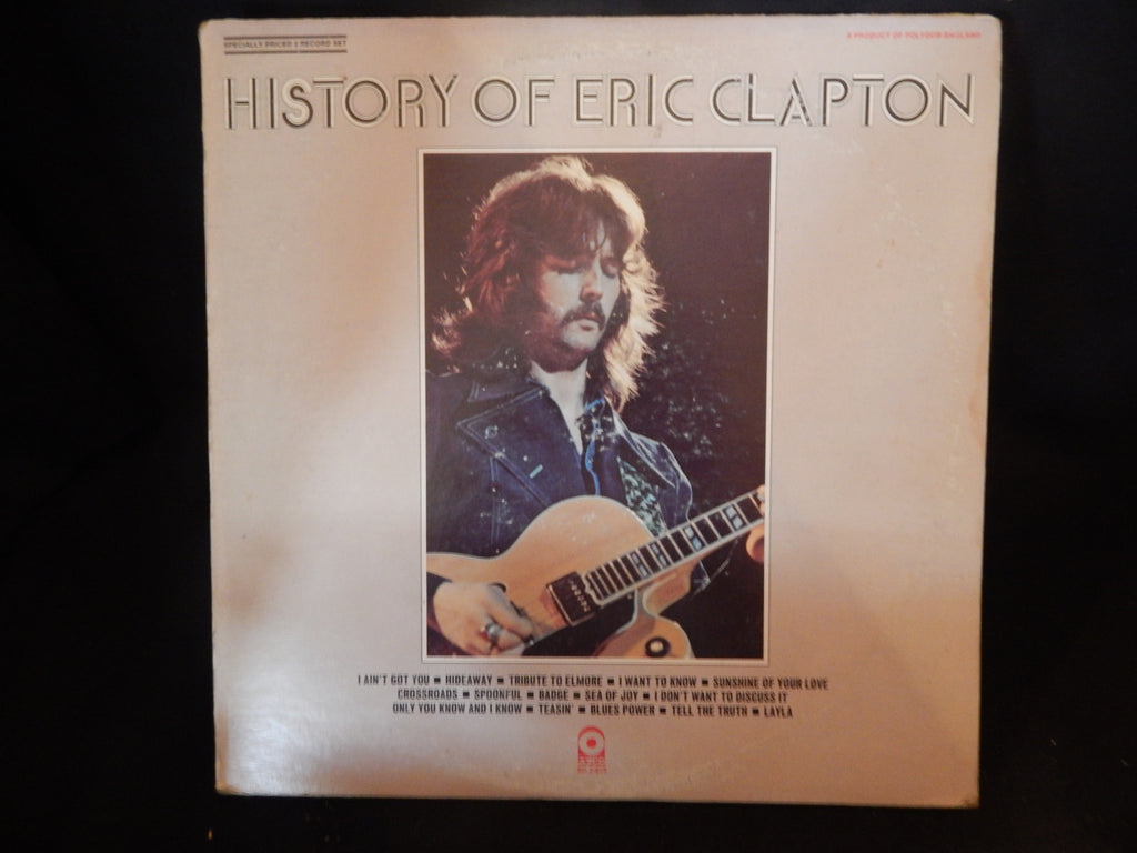 History Of Eric Clapton (double album)