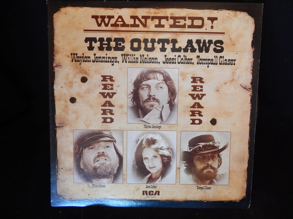 Wanted! The Outlaws - Waylon jennings, Willie Nelson, Jessi Colter, Tompall Glaser