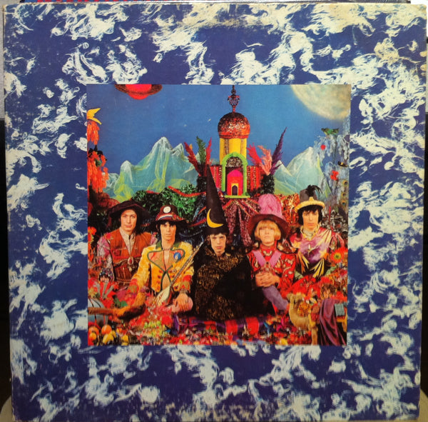 FRAMED LP COVER ART - Their Satanic Majesties Request from The Rolling Stones LP