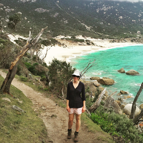 Hiking Little Oberon Bay, Wilsons Promontory National Park