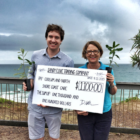 Sandy Cove Trading Company Charity Donation