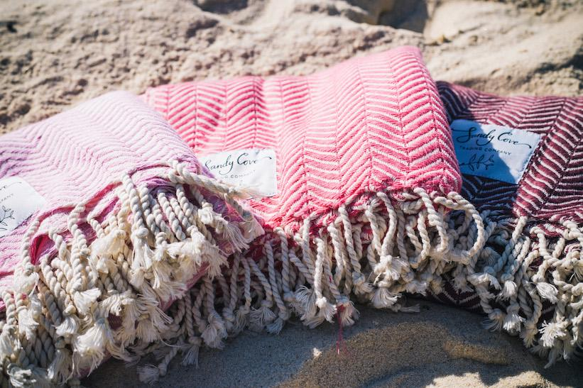 Travel Towels - Luxe Traveller - Turkish Towels - Set Of 2