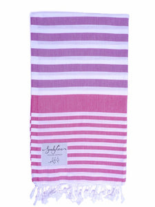 Travel Towels - Original Traveller - Turkish Towel - Mulberry