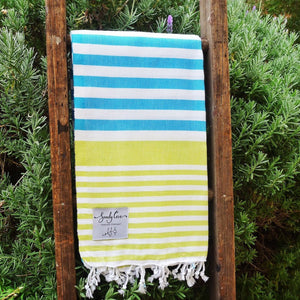 Travel Towels - Original Traveller - Turkish Towel - Rainforest