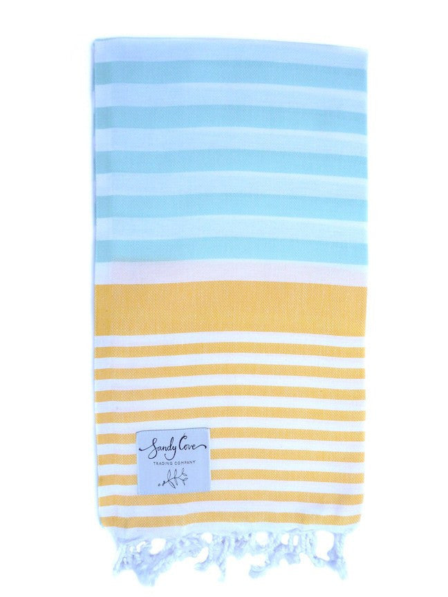 Travel Towels - Original Traveller - Turkish Towel - Summer