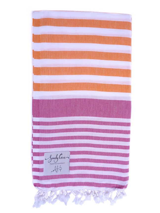 Travel Towels - Original Traveller - Turkish Towel - Sunrise