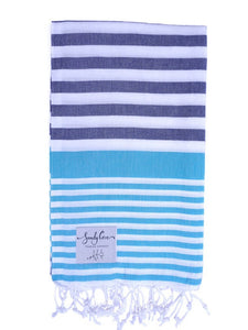Travel Towels - Original Traveller - Turkish Towel - Whitehaven