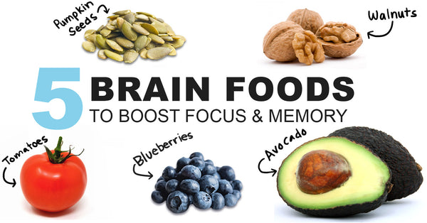 5 foods that boost brain power