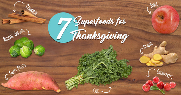 7 Superfoods for Thanksgiving