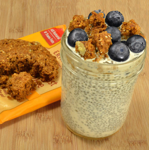 Chia Seed Pudding with Cookie Crumbles