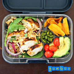 Grilled Chicken and Barley Salad Bento Box