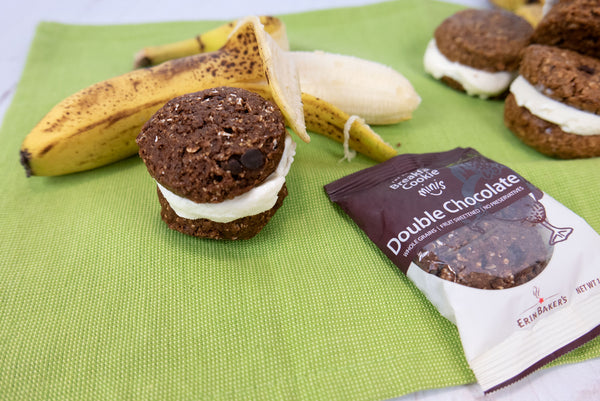Ice Cream Sandwiches with Breakfast Cookie Minis