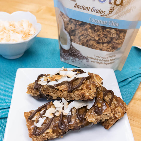 DIY Samoa Bars with Granola