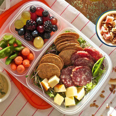 Salami and Cheese Bento Box