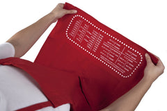 Baking Measurement Conversion Apron